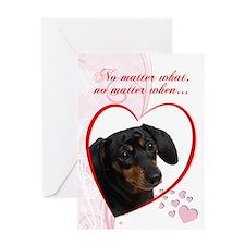 """Dachshund """"Just Whistle"""" Valentine"""
