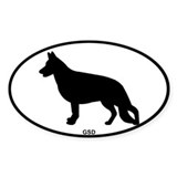 GSD Bumper Stickers