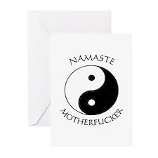Cute Yin yang Greeting Cards (Pk of 10)