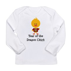 Year of the Dragon Chick Long Sleeve Infant T-Shir