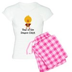 Year of the Dragon Chick Women's Light Pajamas