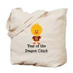 Year of the Dragon Chick Tote Bag