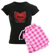 Custom Name Tattoo Heart Pajamas