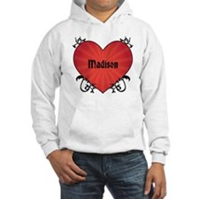 Custom Name Tattoo Heart Hoodie