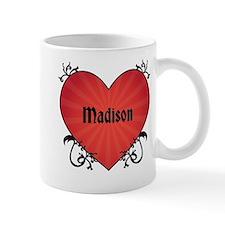 Custom Name Tattoo Heart Mug