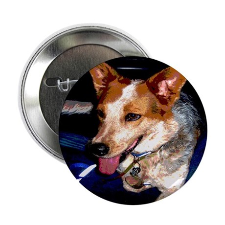 "Red Heeler 2.25"" Button (10 pack)"