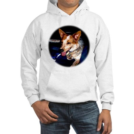 Red Heeler Hooded Sweatshirt