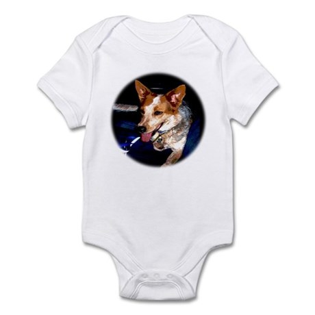 Red Heeler Infant Creeper