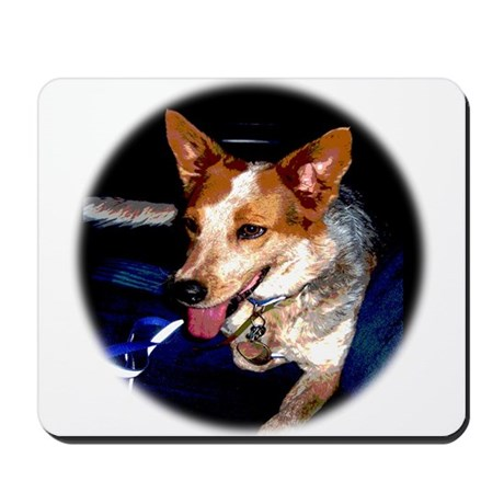 Red Heeler Mousepad