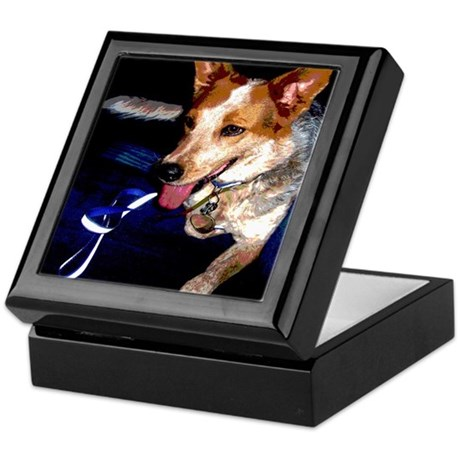 Red Heeler Keepsake Box