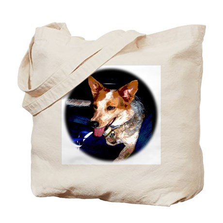 Red Heeler Tote Bag