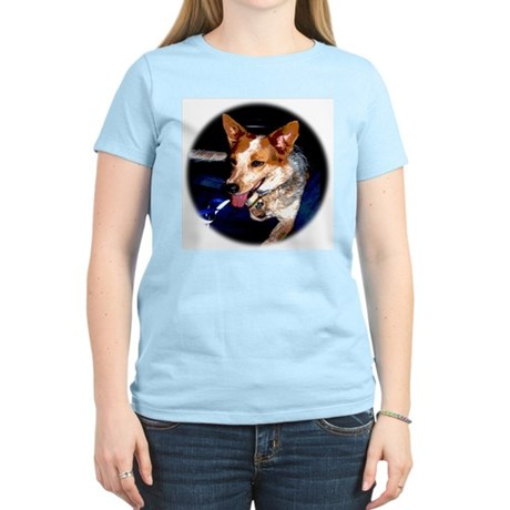 Red Heeler Women's Pink T-Shirt