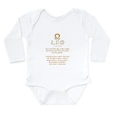 Leo Long Sleeve Infant Bodysuit