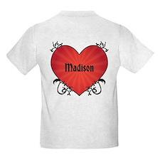Ron Paul Tattoo Heart T-Shirt