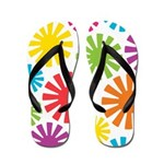 Cool Colors Flip Flops
