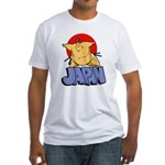 Japan Sumo Fitted T-Shirt