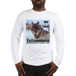 Wolf YNP, Wyoming Long Sleeve T-Shirt