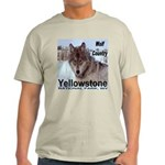 Wolf YNP, Wyoming Light T-Shirt