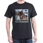 Wolf YNP, Wyoming Dark T-Shirt