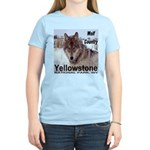 Wolf YNP, Wyoming Women's Light T-Shirt