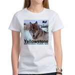 Wolf YNP, Wyoming Women's T-Shirt