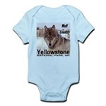Wolf YNP, Wyoming Infant Bodysuit
