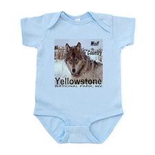 Wolf YNP, Wyoming Infant Bodysuit