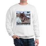 Wolf YNP, Wyoming Sweatshirt