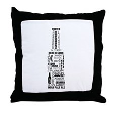 Bottle of Beer Throw Pillow