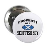 Property of a Scottish Boy Button