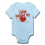 Julian Lassoed My Heart Infant Bodysuit