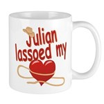 Julian Lassoed My Heart Mug