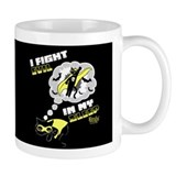 I Fight Evil Mug