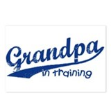 Grandpa in Training Postcards (Package of 8)