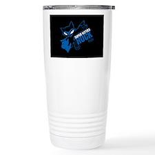 Super Kitties Rock Stainless Steel Travel Mug
