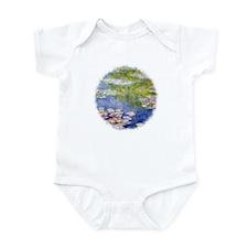 Monet's Water Lilies Infant Bodysuit