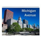 Michigan Avenue Wall Calendar