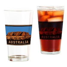 Australia Uluru Drinking Glass