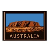 Australia Uluru Postcards (Package of 8)
