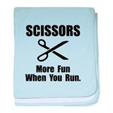Scissors Fun baby blanket