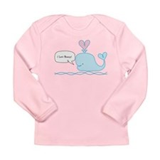 Cute Whale Long Sleeve Infant T-Shirt