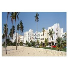 Art Deco Buildings Miami Beach FL