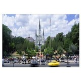 St Louis Cathedral Jackson Square French Quarter N