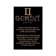 Gemini Rectangle Magnet