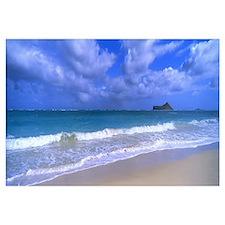 Waimanalo Beach Park Manana Island Oahu HI
