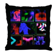 'Rave' Throw Pillow