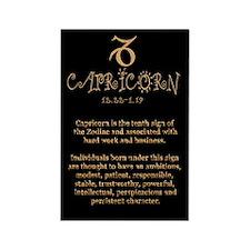 Capricorn Rectangle Magnet (100 pack)