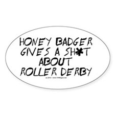 Derby Honey Badger Decal