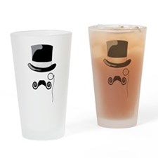 Top Hat Drinking Glass
