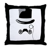 Top Hat Throw Pillow